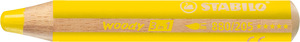 STABILO woody 3 in 1 multi-talented pencil single - yellow picture