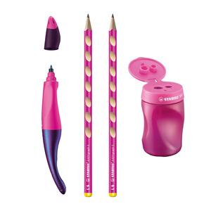 STABILO EASYbundle BTS KS 2 - left handed - pink picture