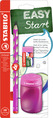 EASYgraph School Set Right handed pink set (1EASYgraph pencil, EASYsharpener and EASYeraser)