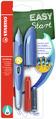 STABILO EASYbirdy M nib Left handed blue/light blue +1 blue ink cartridge +1 tool for nib exchange