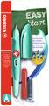 STABILO EASYbirdy M nib Right handed aqua green/mint +1 blue ink cartridge +1 tool for nib exchange