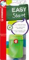 STABILO EASYsharpener right handed - blistercard green