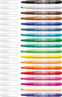 STABILO power max fibre-tip pen cardboard wallet of 18 colours additional picture 1