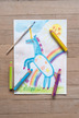 STABILO woody 3 in 1 multi-talented pencil single - red additional picture 11