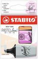 STABILO BOSS MINI Pastellove 2.0 card hanging wallet of 3