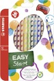 STABILO EASYcolors ergonomic coloured pencil right handed - wallet of 12 colours