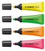 STABILO NEON highlighter - net of 4 colours additional picture 1