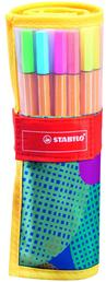 "STABILO point 88 fineliner - ""Colorful at Random"" edition (10 standard + 5 neon colours)"