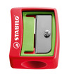 STABILO woody 3 in 1 wallet of 10 colours with sharpener and stencils additional picture 2