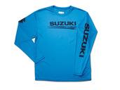 Suzuki Marine Long Sleeve Cooling Shirt (Blue)