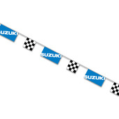 Suzuki String Pennants, Blue