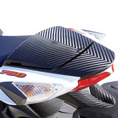 Carbon Pattern Seat Cowling