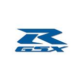 GSX-R Die Cut Decal Blue