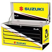 Suzuki M80 4-Drawer Tool Box White