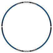 Front Wheel Decal (Blue/White V2)