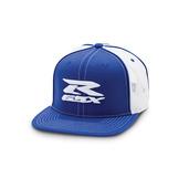 GSX-R Trucker Cap Blue/White