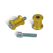 Swingarm Spool Set, Gold