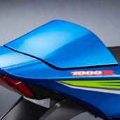 Seat Cowl, Metallic Triton Blue ('17-'18)