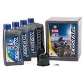 ECSTAR R7000 Semi-Synthetic Oil Change Kit (4 Quart)