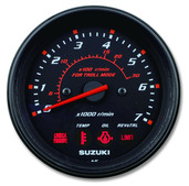 "4"" Tachometer w/ Monitor & Troll Mode Scale"