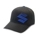 Suzuki S Fade Black/Blue Hat