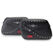 Studded Touring Saddlebags