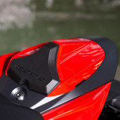 Seat Cowl, Red
