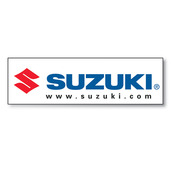 Suzuki Banner, 3'x10'