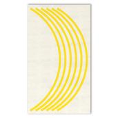 Yellow Rim Decals