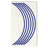 Blue Rim Decals