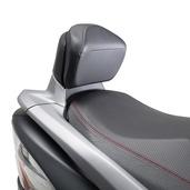 Passenger Backrest, Gray