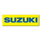 Suzuki Banner Yellow, 3'x10'