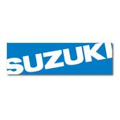 Suzuki Banner Blue, 3'x10'