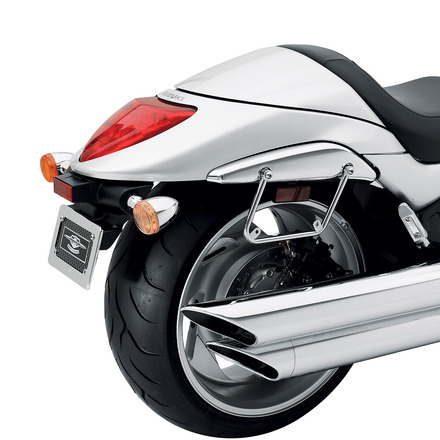 Chrome Saddlebag Supports picture