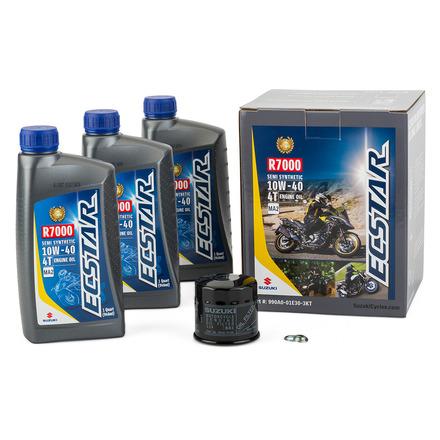 ECSTAR R7000 Semi-Synthetic Oil Change Kit (3 Quart) picture