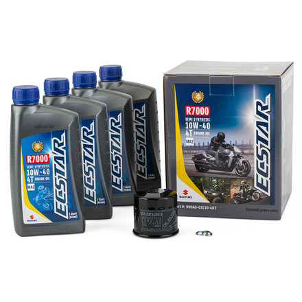 ECSTAR R7000 Semi-Synthetic Oil Change Kit (4 Quart) picture