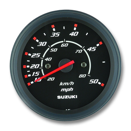 "4"" 50mph Speedometer picture"