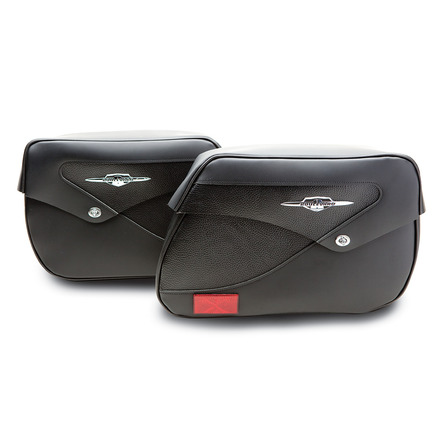 Classic Leather Saddlebags picture