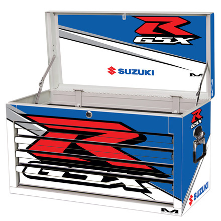 GSX-R M80 4-Drawer Tool Box White picture