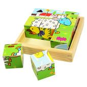 Animal Cube Puzzle