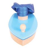 Balloon Powered Boat (Blue)