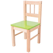 Wooden Chair (Green)