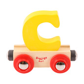 Rail Name Letter C (Yellow)