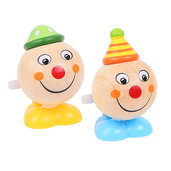 Jumping Clown Heads (Pack of 2 - Yellow Feet and Blue Feet)