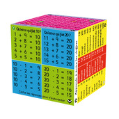 French Addition and Subtraction Cube Book