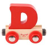 Rail Name Letter D (Red)
