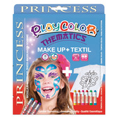 Basic Make Up Pocket 5g + Textil One 10g (Princess Set)
