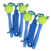 Coloured Skipping Rope (Pack of 2 - Blue Handle Frog)