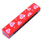 Snazzy Harmonica (Red)