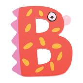 Crazy Bird Letter B (Red)